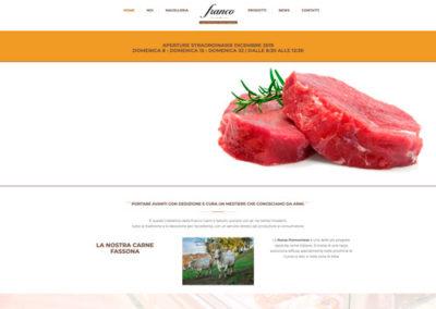 Sito web Macelleria Salumeria Franco