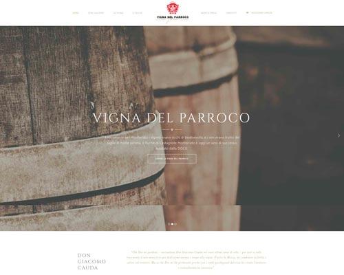 Sito web Vino Ruchè Vigna del Parroco