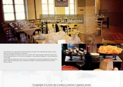 Sito web Osteria Il Re D'egli Ignoranti