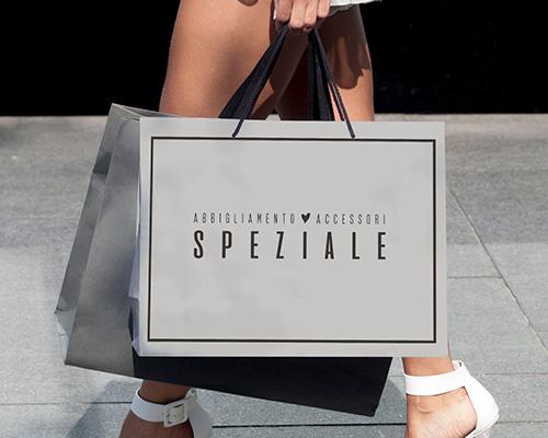 Creazione shopper per abbigliamento e accessori SPEZIALE