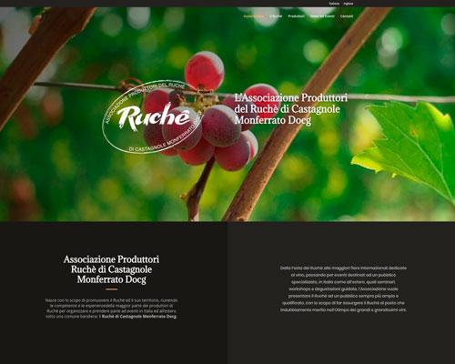 Sito web Associazione Produttori Ruchè