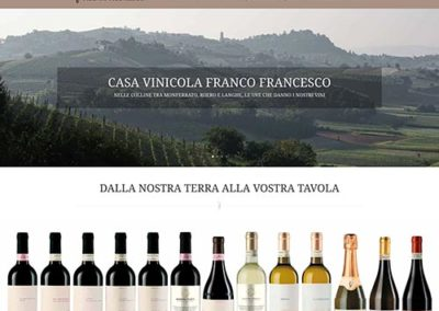 Sito web Franco Francesco Vini